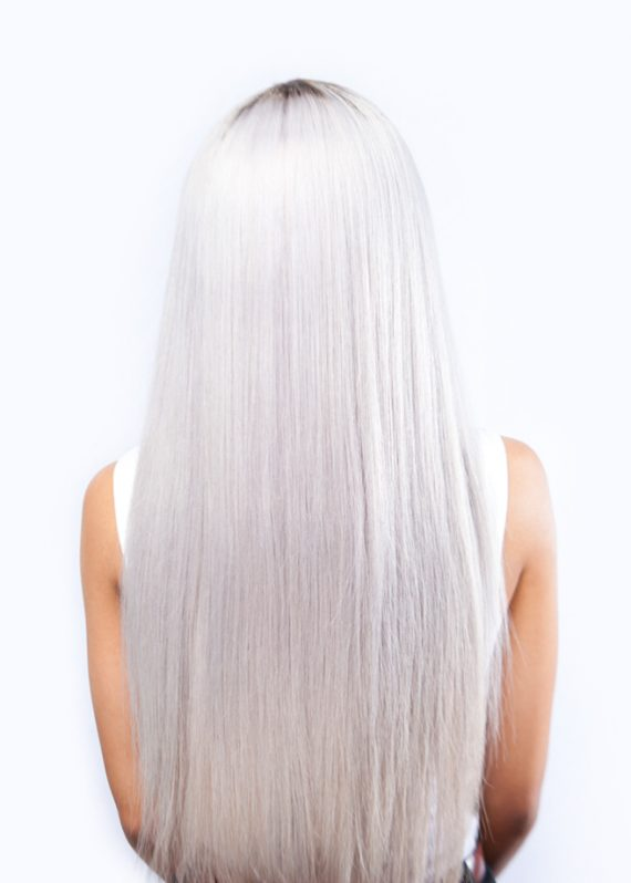 Red Carpet Luxury Hair – Silver Straight 3